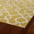 Revolution Lattice Rug in Yellow