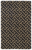 Revolution Maze Rug in Charcoal