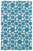 Revolution Stars Rug in Blue