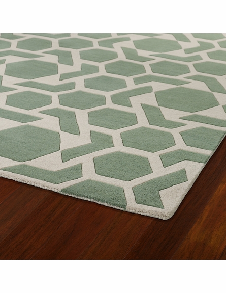 Revolution Stars Rug in Mint