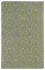 Revolution Tribal Chevron Rug in Grey