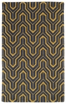 Revolution Tribal Chevron Rug in Yellow