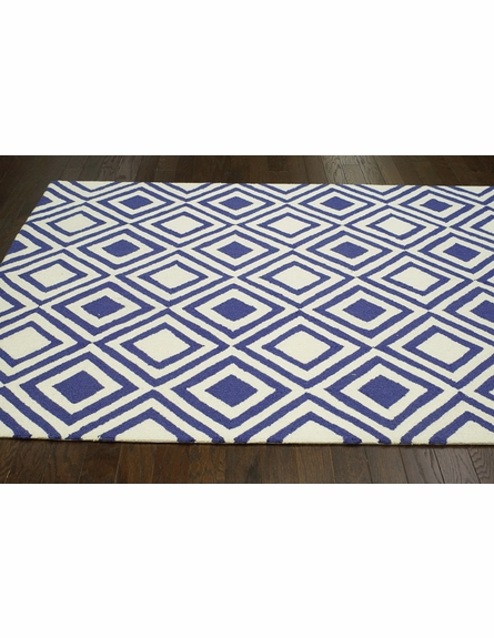 Rex Rug in Blue