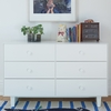Rhea 6 Drawer Dresser in White