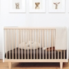 Rhea Convertible Crib in Birch and White