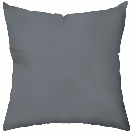 Rhino in Warm Grey Throw Pillow