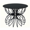 Ribbon Accent Table - Short