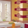 Ribbon Candy Stripe Wall Decals - Red