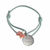 Ribbon Kids Bracelet in Silver