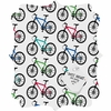 Ride A Bike White Quatrefoil Magnet Board