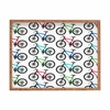 Ride A Bike White Rectangle Tray