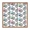 Ride A Bike White Square Tray