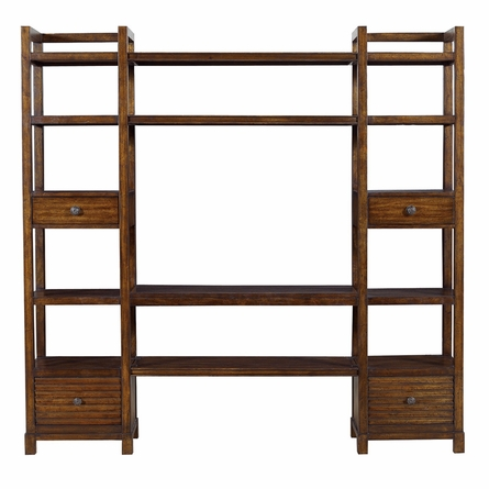 Ripple Cay Media Bookcase