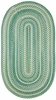 River Bend Braided Rug in Green