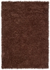 Riza Shag Rug in Brown