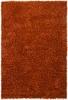 Riza Shag Rug in Orange