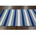 Rizo Striped Rug in Navy