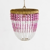 Ro Sham Beaux Malibu Barbie Beaded Chandelier