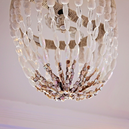Ro Sham Beaux Stoney Beaded Chandelier