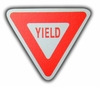 Road Sign Yield Sign Drawer Pull