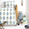 Robot Baby Bedding Set