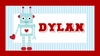 Robot Love Personalized Placemat