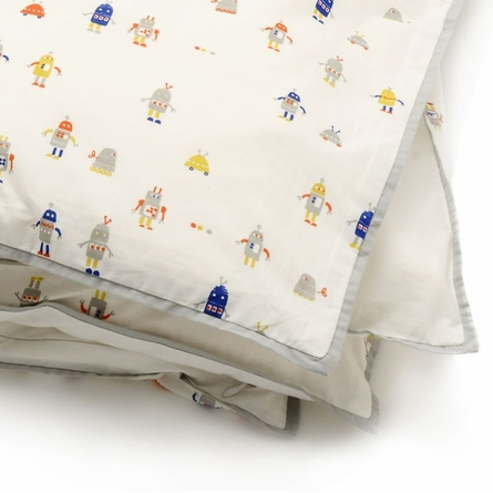 Robot March Duvet Cover