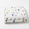 Robot March Fitted Crib Sheet