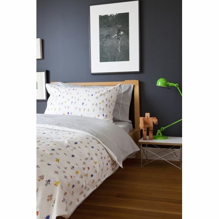 Robot March Twin Duvet Cover