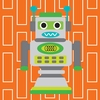 Robot Spring Canvas Wall Art