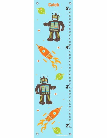 Robots & Rockets Aqua Growth Chart
