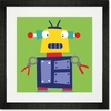 Robots Rule - Elliot Framed Art Print