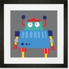 Robots Rule - Stewart Framed Art Print
