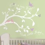 Rock-A-Bye Branches Wall Decals