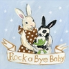 Rock a Bye Bunny Canvas Reproduction