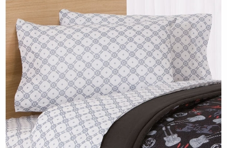 Rock Anthem Comforter with Pillow Sham