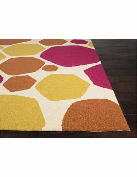 Rock It To Me Rug in Pink