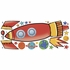 Rocket Giant Wall Decals