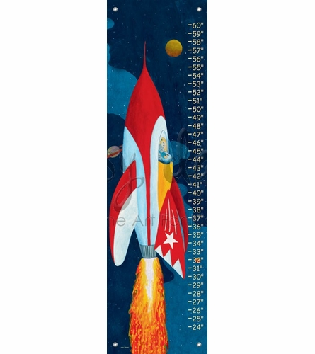 Rocket Man Growth Chart