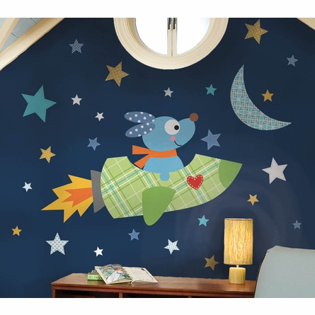 Rocketdog Giant Peel & Stick Wall Decal