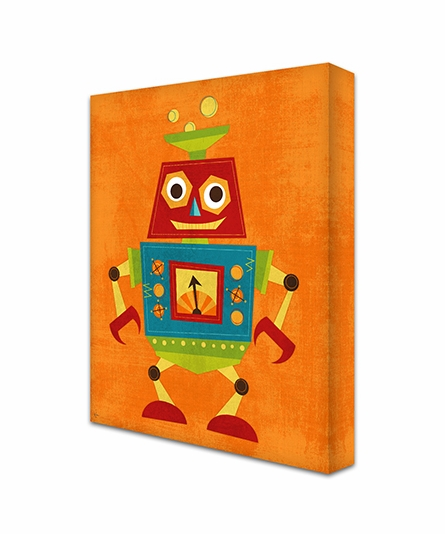 Rockin Robot I Canvas Reproduction