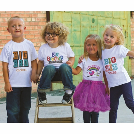 Rocking Rainbow Girl Personalized T-Shirt