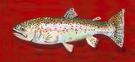 Rodney the Rainbow Trout Canvas Reproduction