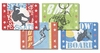 Roger Groth Placemats - Extreme Sports - Set Of Four