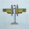 Roger Roger Airplane Canvas Reproduction