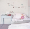 Romantic Alphabet Peel & Stick Wall Decals