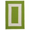 Rope Walk Rug in Bright Green