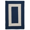 Rope Walk Rug in Navy