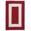 Rope Walk Rug in Red