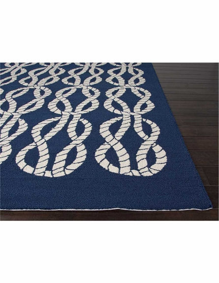 Roped In Rug in Blue